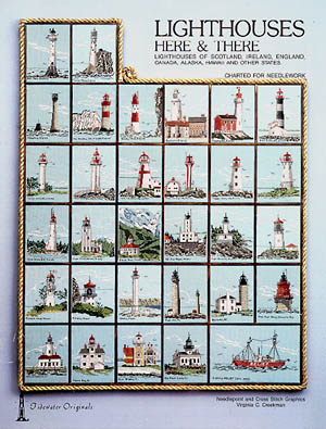 click here to view larger image of Lighthouses Here and There (chart)