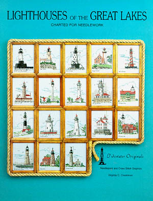 click here to view larger image of Lighthouses of the Great Lakes (chart)