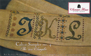 click here to view larger image of Calico Sampler No 4 (chart)
