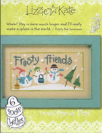 click here to view larger image of 6 Snow Belles -  Frosty Friends (chart)
