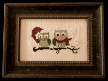 click here to view larger image of Christmas Owls (chart)