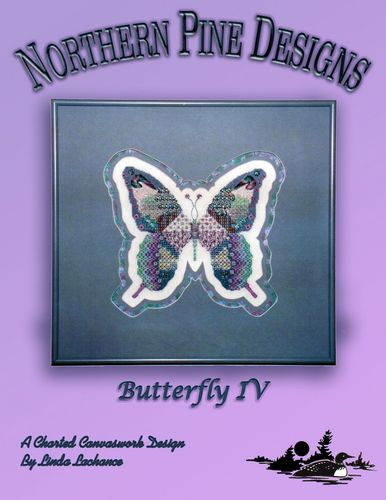 click here to view larger image of Butterfly 4 (counted canvas chart)