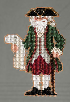 click here to view larger image of Williamsburg Santa (2013) (counted cross stitch kit)