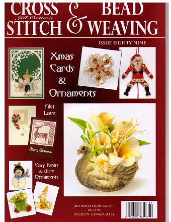 click here to view larger image of Cross Stitch & Bead Weaving Issue #89 (magazines)