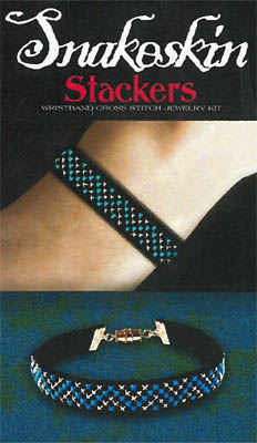 click here to view larger image of Snakeskin Wristband Stacker Kit (chart)