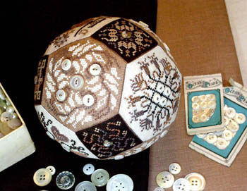click here to view larger image of Quaker Button Ball, The (chart)