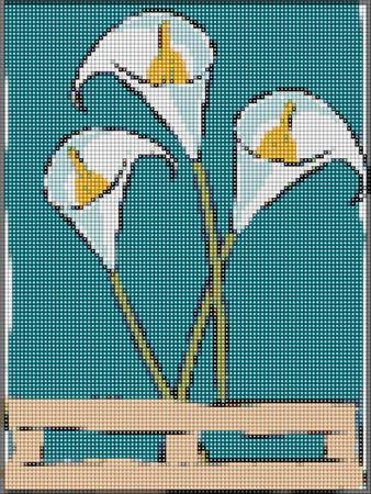 click here to view larger image of Calla Lily (chart)