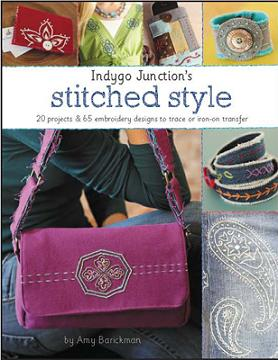 click here to view larger image of Indygo Junction's Stitched Style (book)