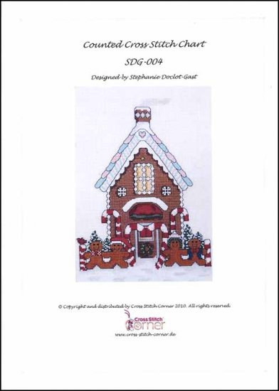 click here to view larger image of Gingerbread House (chart)