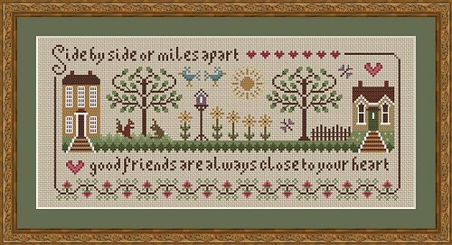 click here to view larger image of Friendship Sampler (chart)