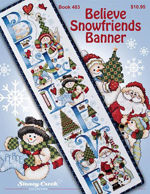 click here to view larger image of Believe Snowfriends Banner (chart)