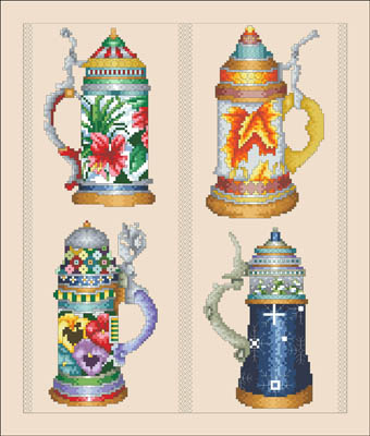 click here to view larger image of Beer Stein Seasons (chart)