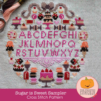 click here to view larger image of Sugar is Sweet Sampler (chart)