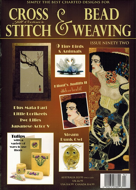 click here to view larger image of Cross Stitch & Bead Weaving Issue #92 (magazines)