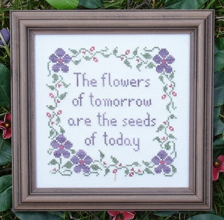 click here to view larger image of Flowers of Tomorrow (chart)