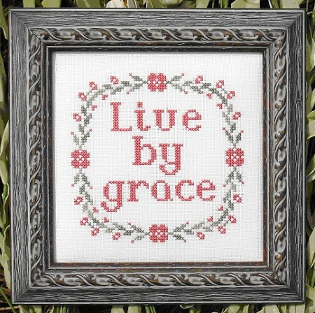 click here to view larger image of Live By Grace (chart)