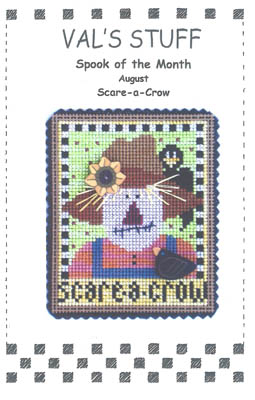 click here to view larger image of August Ornament - Scare-A-Crow (chart)