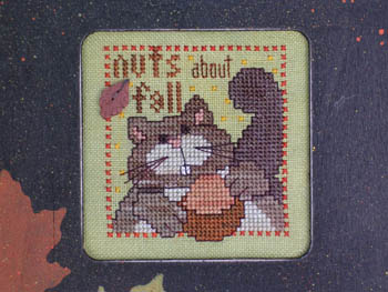 click here to view larger image of Nuts About Fall (chart)