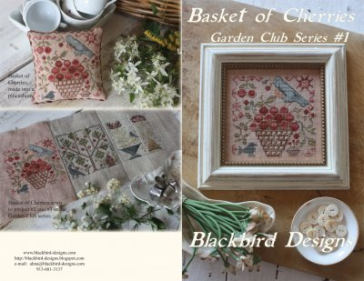 click here to view larger image of Basket of Cherries - Garden Club Series 1 (chart)