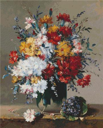 click here to view larger image of A Bouquet of Flowers and a Posy of Violest (chart)