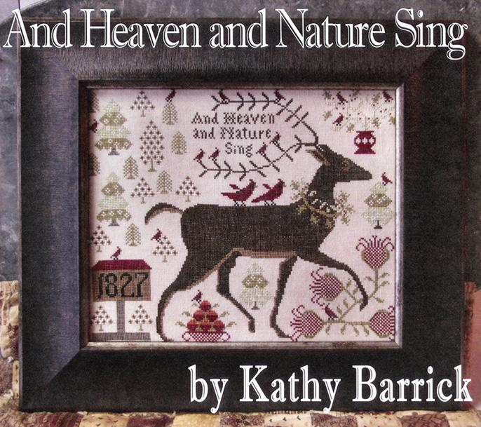 click here to view larger image of And Heaven and Nature Sing (chart)