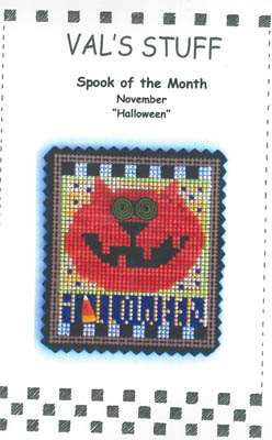 click here to view larger image of November Ornament - Halloween (chart)
