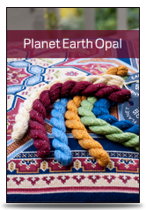 click here to view larger image of Planet Earth - Opal (fiber)