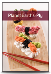 click here to view larger image of Planet Earth 6 Ply - Solid (fiber)