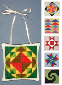 click here to view larger image of American Quilt Trail (counted cross stitch kit)