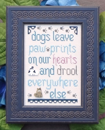 click here to view larger image of Dogs Leave Paw Prints - The Snarky Version (chart)