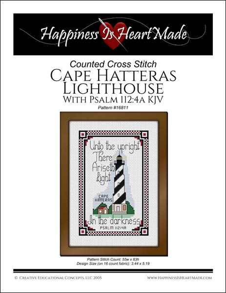 click here to view larger image of Cape Hatteras Lighthouse / Psalm 1124a (chart)