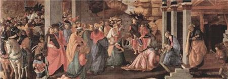 click here to view larger image of Adoration Of The Magi (chart)