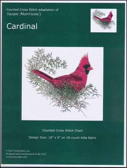 click here to view larger image of Cardinal (chart)