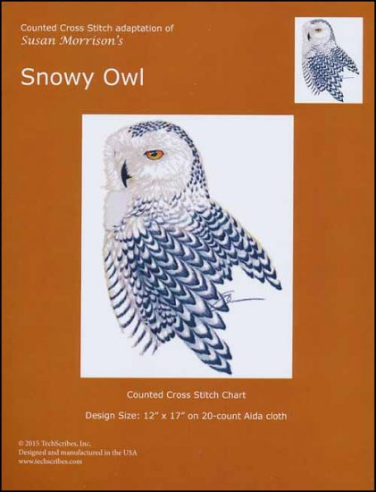 click here to view larger image of Snowy Owl (chart)