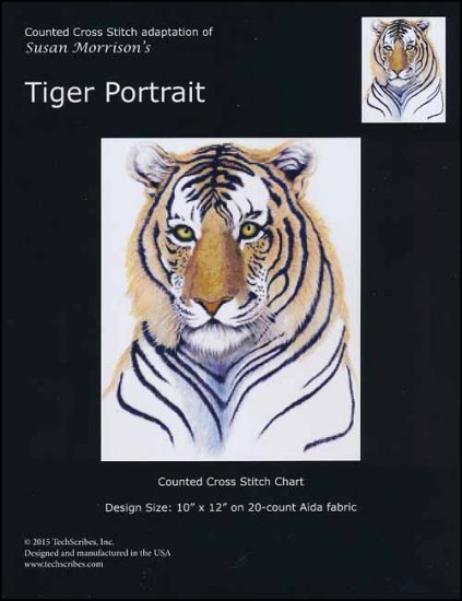click here to view larger image of Tiger Portrait (chart)
