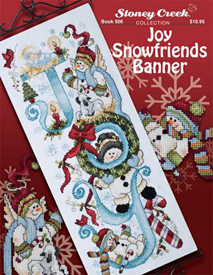click here to view larger image of Joy Snowfriends Banner (book)