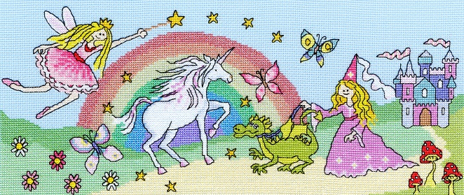 click here to view larger image of Fairy Tale Fun (counted cross stitch kit)