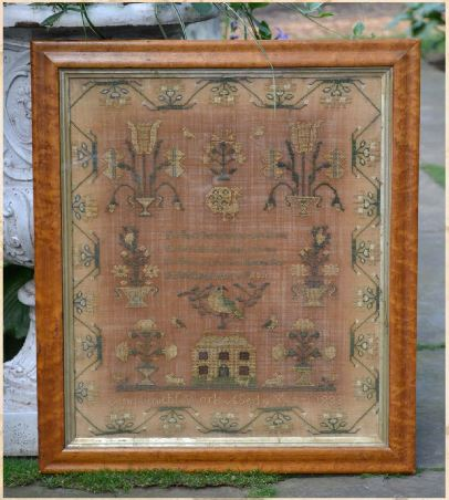 click here to view larger image of Ann Smith - A Quaker Reproduction Sampler (chart)