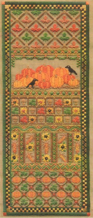 click here to view larger image of Fall Harvest Panel (counted canvas chart)