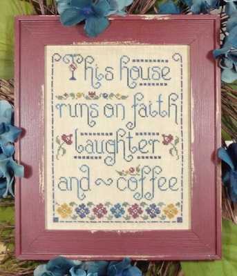 click here to view larger image of Faith Laughter and Coffee (chart)