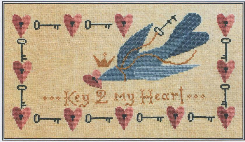 click here to view larger image of Key 2 My Heart (chart)