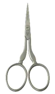 click here to view larger image of 4in Stainless Steel Embroidery Scissors (accessory)