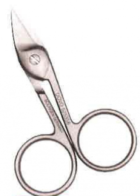 click here to view larger image of 3-1/2in Curved Stainless Steel Applique Scissors (accessory)