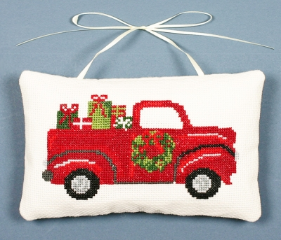 click here to view larger image of Bringing The Gifts Ornament (counted cross stitch kit)