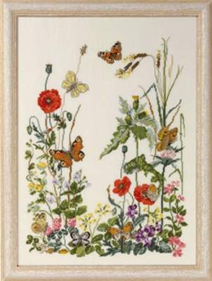 click here to view larger image of 8 Butterflies (counted cross stitch kit)