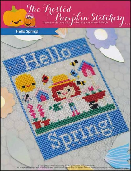 click here to view larger image of Hello Spring (chart)
