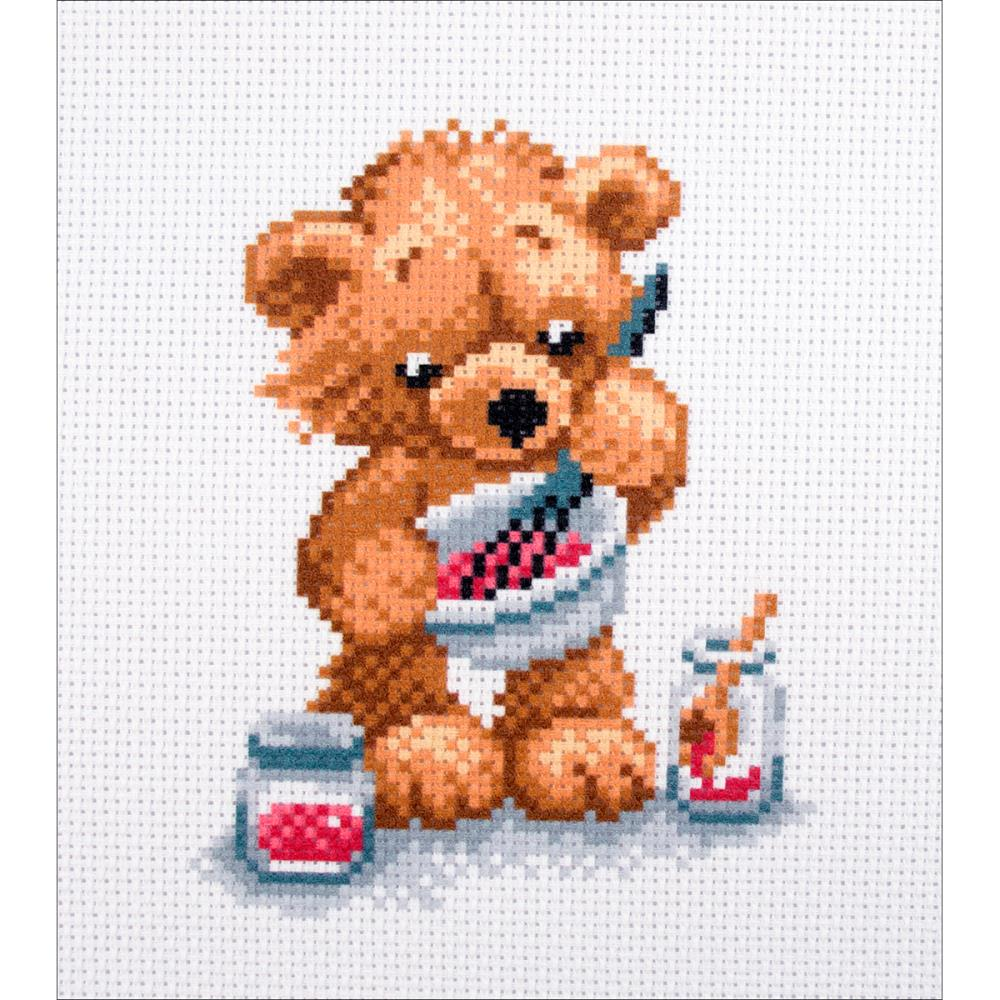 click here to view larger image of Cook (stamped cross stitch)