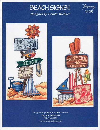 click here to view larger image of Beach Signs 1 (chart)
