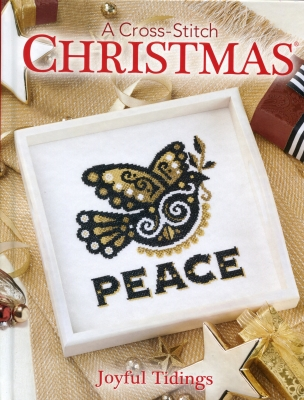 click here to view larger image of Joyful Tidings - A Cross Stitch Christmas (book)