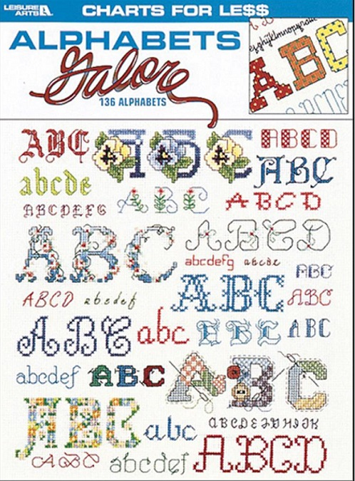 click here to view larger image of Alphabets Galore (book)